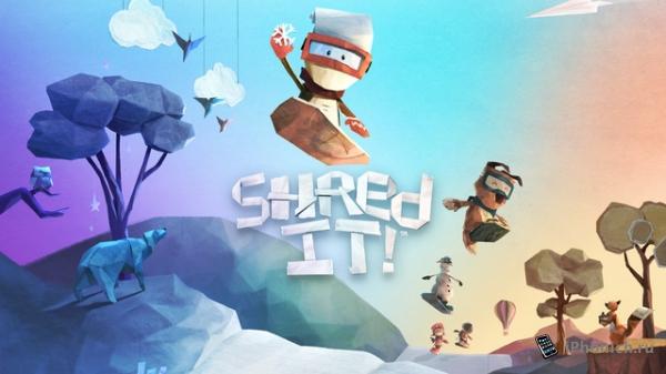 Shred It! - катаемся на сноуборде