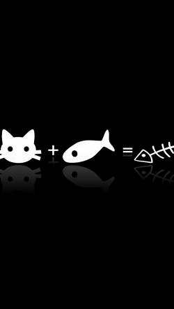 Обои для iPhone 6 с котиками (33 штуки).