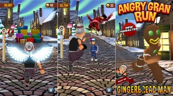 Angry Gran Run - крутая игра для любого возраста