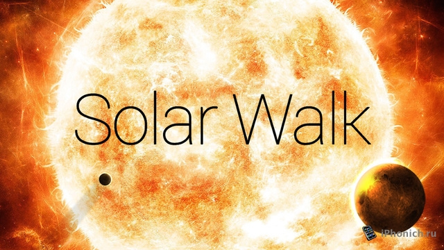 Solar Walk – 3D модель Солнечной системы на iPhone и iPad