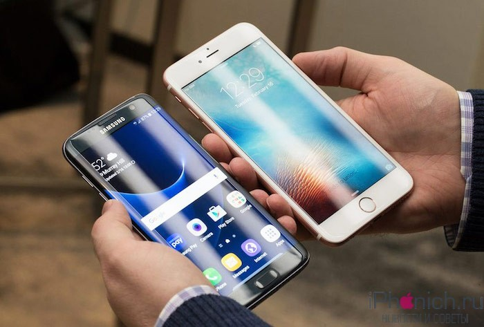 Сравнение Samsung Galaxy S7 и iPhone 6s Plus: Оптическая стабилизация