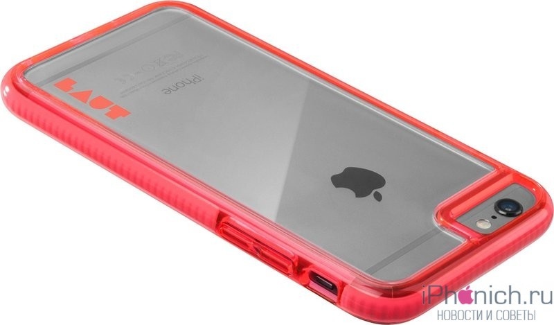 Laut Fluro Case Pink 6.800x600w