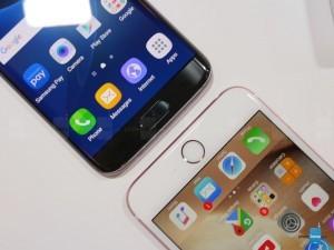 Сравнение флагманов Samsung Galaxy S7 Edge и iPhone 6s Plus (фото, видео)