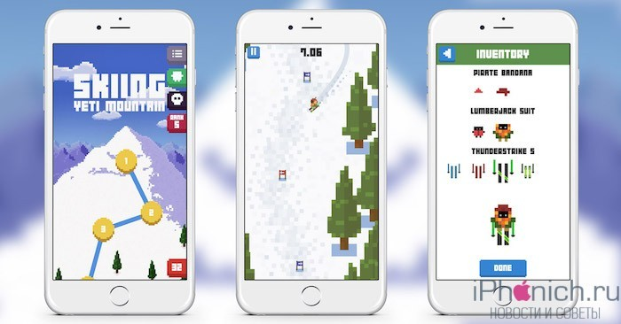 Skiing-Yeti-Mountain-iOS
