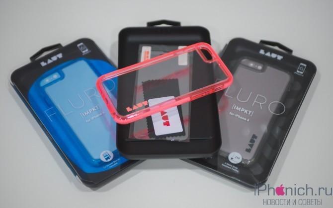 Чехол LAUT Fluro для iPhone 6s