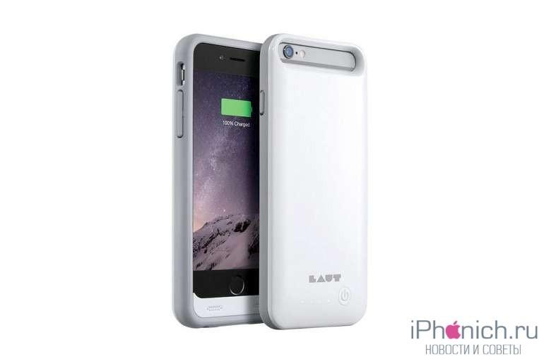 Laut N-Duro - чехол аккумулятор для iPhone 6 и iPhone 6s