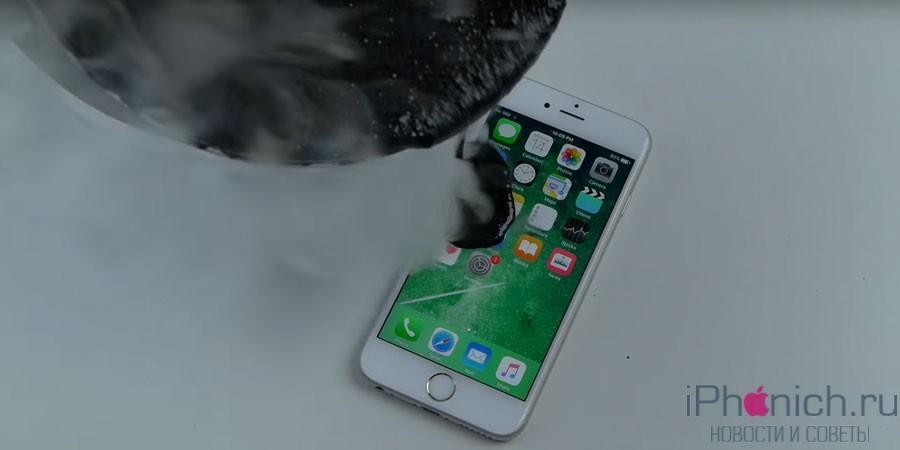 Как правильно заливать iPhone 6s расплавленной смолой (видео)