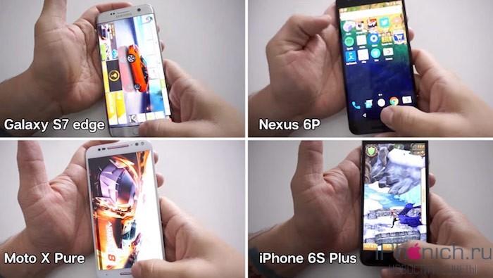 iphone-6s-plus-s-2-gb-ram-oboshel-galaxy-s7-s-4-gb-ram-v-teste-na-byistrodeystvie-video
