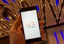 iOS 9.3 с iOS 9.2.1 - сравнение быстродействие