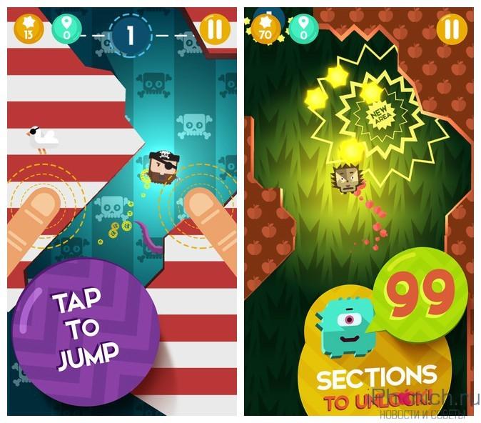 Jump Buddies - простая, но интересная игра для iPhone и iPad