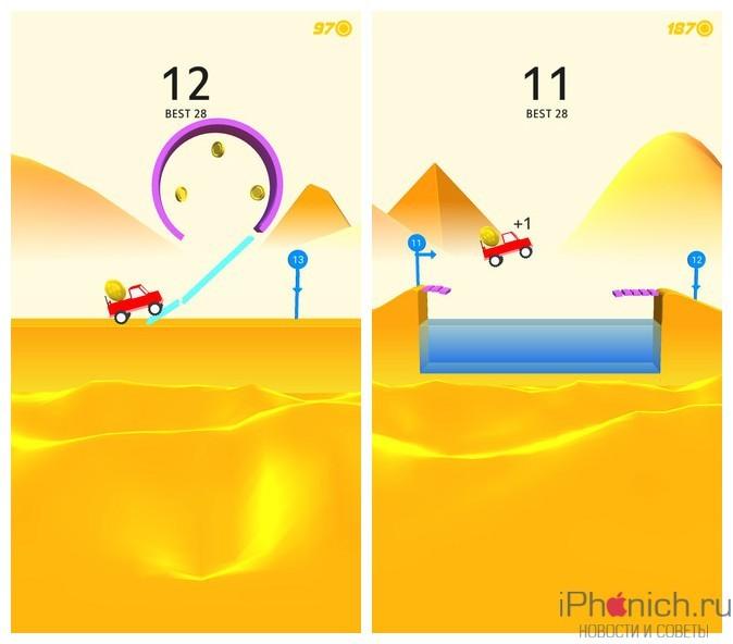Risky Road - простая, но веселая игра для iPhone и iPad