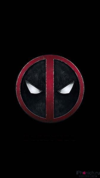 deadpool-art-logo-hero-iphone-6