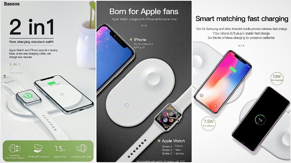 Лучшие беспроводные зарядки для iPhone XS или iPhone XS Max в 2019 году