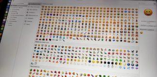 Как использовать Emoji на Mac