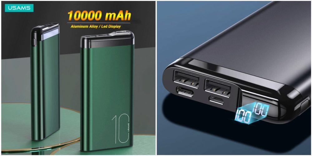 USAMS, мини-аккумулятор 10000 мАч